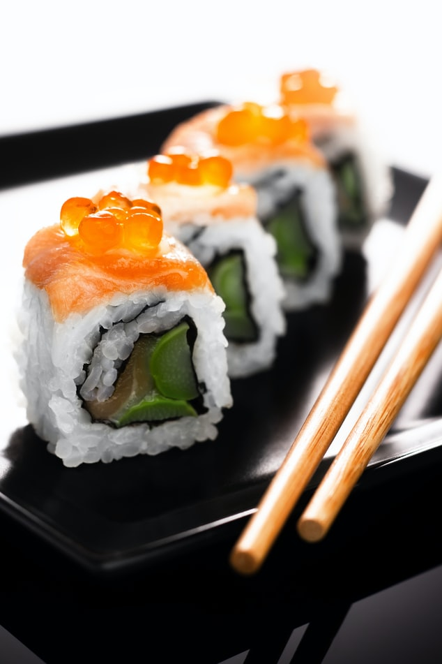 Sushi at Seafoods of the World